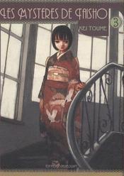 Les mystères de Taisho t.3 - Couverture - Format classique