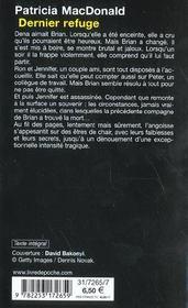 Dernier Refuge - 4ème de couverture - Format classique