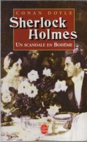 Les aventures de Sherlock Holmes ; un scandale en Bohême - Couverture - Format classique