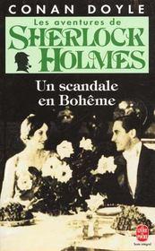 Les aventures de Sherlock Holmes ; un scandale en Bohême - Intérieur - Format classique
