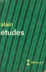 Etudes. Collection : Idees N° 160 - Couverture - Format classique