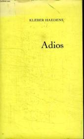 Adios. - Couverture - Format classique