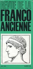 Revue De La Franco Ancienne N° - Couverture - Format classique