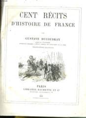 Cent Recits D'Histoire De France - Couverture - Format classique