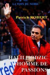 Halilhodzic, Homme De Passions - Couverture - Format classique