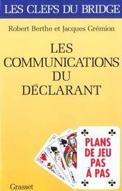 Les communications du declarant - plans de jeux pas a pas - Intérieur - Format classique