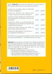 Method'S ; mathématiques ; terminale S ; 170 méthodes, 80 exercices corrigés - 4ème de couverture - Format classique