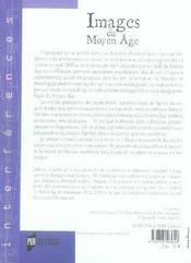 Images du moyen âge - 4ème de couverture - Format classique