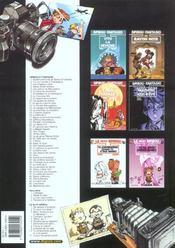 Les aventures de Spirou et Fantasio HORS-SERIE T.3 ; la voix sans maître et 5 autres aventures - 4ème de couverture - Format classique