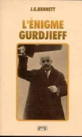Enigme Gurdjieff - Couverture - Format classique