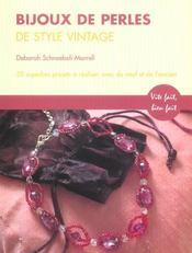 Bijoux De Perles De Style Vintage - Intérieur - Format classique