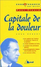 Capitale de la douleur, de Paul Eluard - Intérieur - Format classique