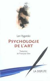 Psychologie de l'art - Intérieur - Format classique