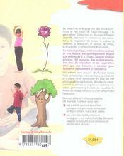 Stretching et yoga pour les enfants ; 140 exercices - 4ème de couverture - Format classique