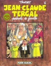 Jean-Claude Tergal T.6 ; portraits de famille - Intérieur - Format classique