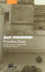 Freedom Song - Intérieur - Format classique