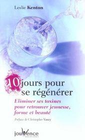10 jours pour se regenerer n.58 - Intérieur - Format classique