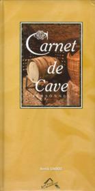 Carnet de cave personnel - Couverture - Format classique