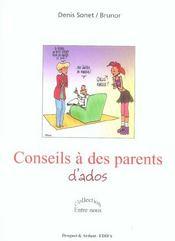 Conseils a des parents d'ados - Intérieur - Format classique