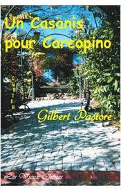 Un casanis pour carcopino - Couverture - Format classique