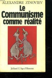 Le Communisme Comme Realite. - Couverture - Format classique