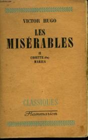 Les Miserables. Tome 2 : Cosette, Marius. - Couverture - Format classique