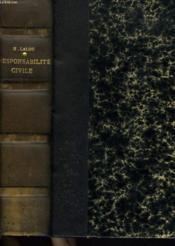 TRAITE PRATIQUE DE LA RESPONSABILITE CIVILE. 3e EDITION. - Couverture - Format classique