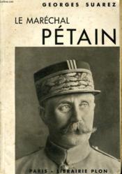 Le Marechal Petain - Couverture - Format classique