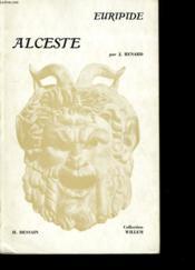Euripide Alceste. - Couverture - Format classique