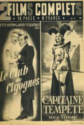 2 Films Complets N°5 - Le Club Des Cigignes - Capitaine Tempete - Couverture - Format classique