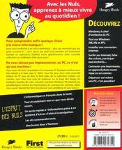 Pc ; 8e Edition - 4ème de couverture - Format classique