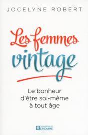 Les femmes vintage - Couverture - Format classique