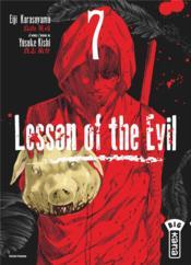 Lesson of the evil t.7 - Couverture - Format classique