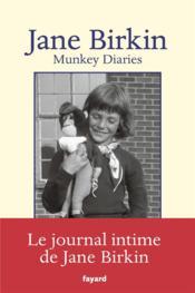 Munkey diaries (1957-1982) - Couverture - Format classique