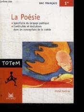 La poésie - Couverture - Format classique