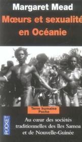 Moeurs et sexualité en Océanie - Couverture - Format classique