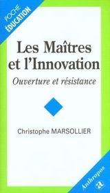 Les Maitres De L'Innovation - Intérieur - Format classique