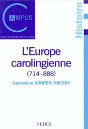 L'Europe Carolingienne 714-888 - Intérieur - Format classique