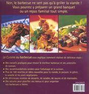 La Cuisine Au Barbecue - 4ème de couverture - Format classique