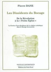Les dissidents du bocage - Couverture - Format classique