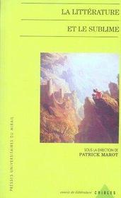 La littérature et le sublime - Intérieur - Format classique