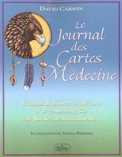 Le journal des cartes medecine - Intérieur - Format classique