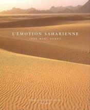 L'Emotion Saharienne - Couverture - Format classique