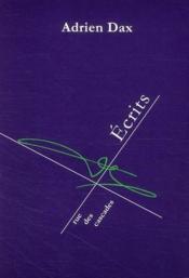 Écrits - Couverture - Format classique
