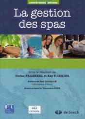 La gestion des spas - Couverture - Format classique