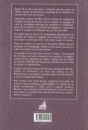 Le naufrage de la méduse ; paroles de rescapés - 4ème de couverture - Format classique