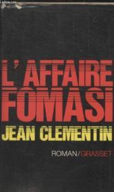 Laffaire Fomasi. - Couverture - Format classique