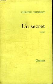 Un Secret. - Couverture - Format classique