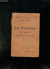 La Victoire En L An Ii. Esquisses Historiques Sur La Defense Nationale. - Couverture - Format classique