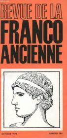 Revue De La Franco Ancienne N°184 - Couverture - Format classique